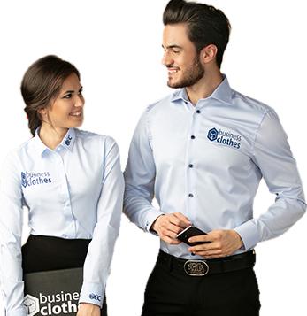 Koszula firmowe z nadrukiem logo firmy
